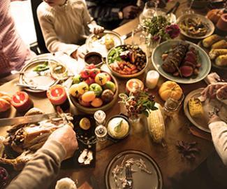 Les produits de l'automne Loste Tradi-France : gibier, choucroute, raclette